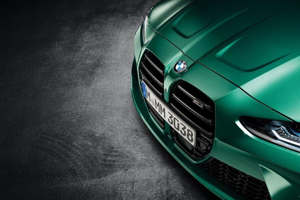 Ovo je fotografija novog BMW M3