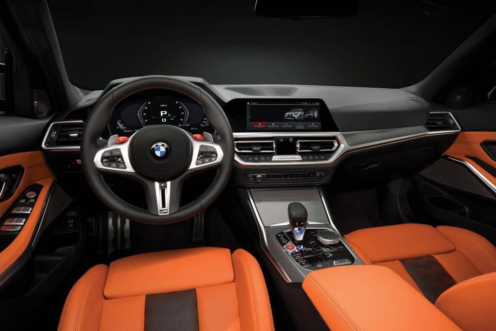 Ovo je fotografija Novog BMW M3 Competitioni M4
