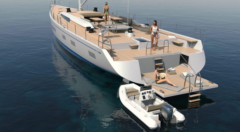 Swan 88 Render Hull 01