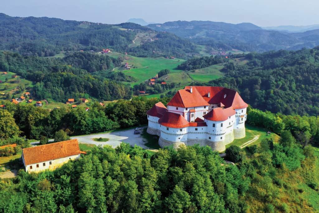Ovo je fotografija dvorca Veliki Tabor