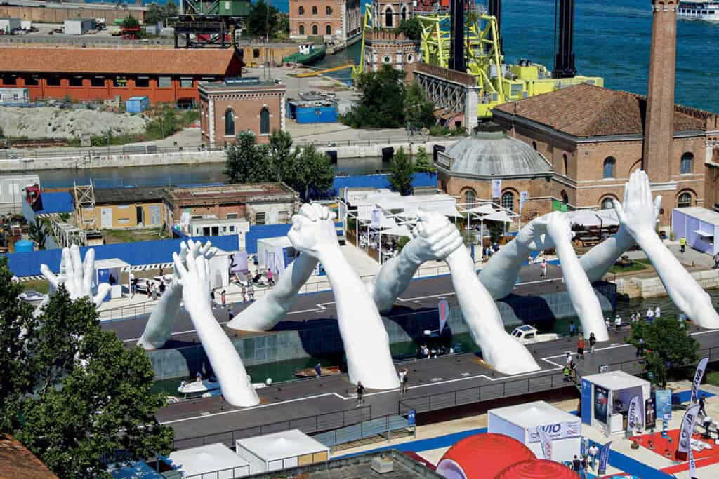 This is photo of a Venice Boat Show Terminal 00