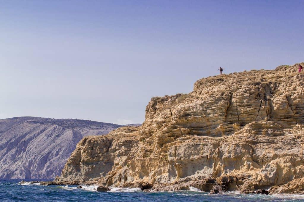 This is a photograph of Island Of Rab Croatia Lopar Cliffs 01