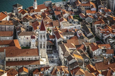 This is photo of the Trogir