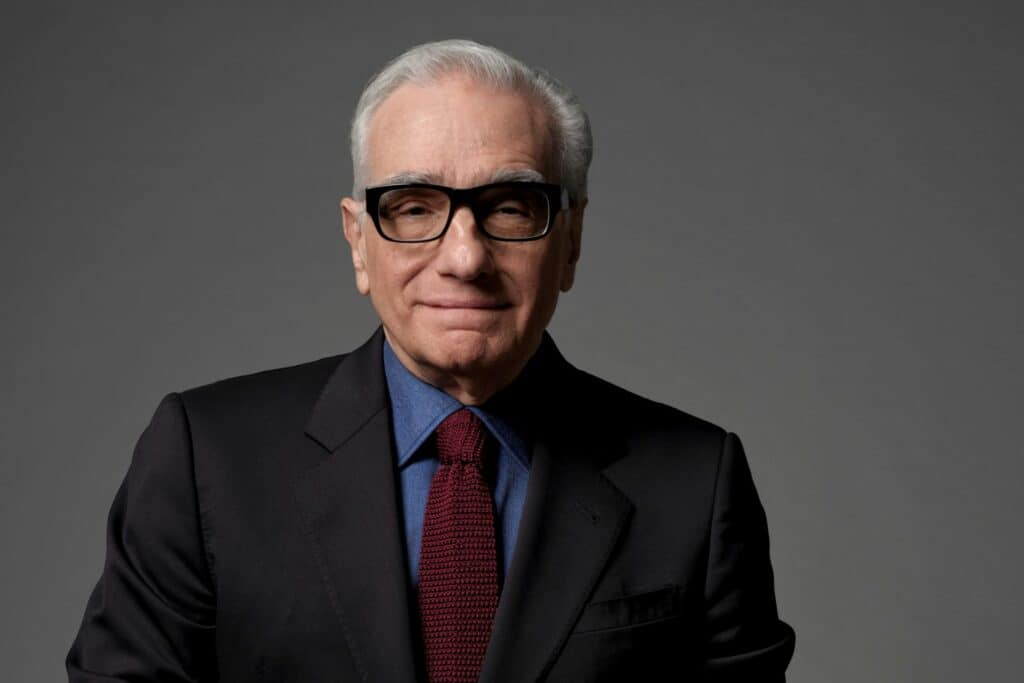 This is a photography of Martin Scorsese portrait