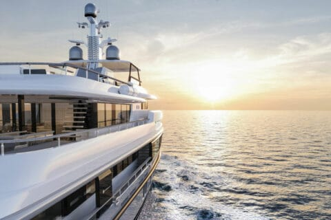 This is photo of a Vripack yacht cruising