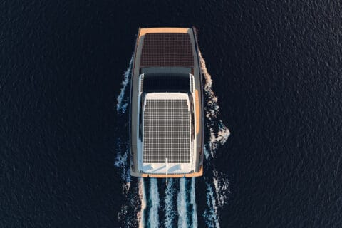 This is photo of a Sunreef Eco Yachts