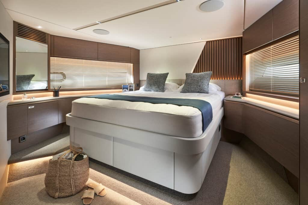 This is photo of a guest cabin princess Y72