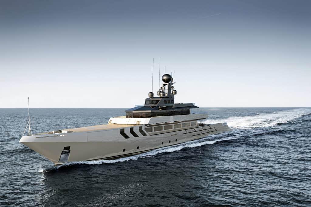 This is photo of a custom superyacht OPV 56 Antonini Navi