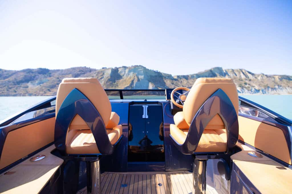 This is photo of a new Nerea Yacht seats