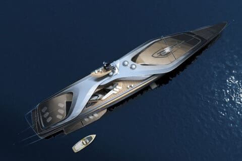 This is photo of a Oceanco Kairos concept