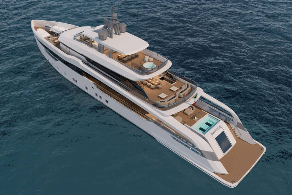 This is photo of a CRN M/Y 142