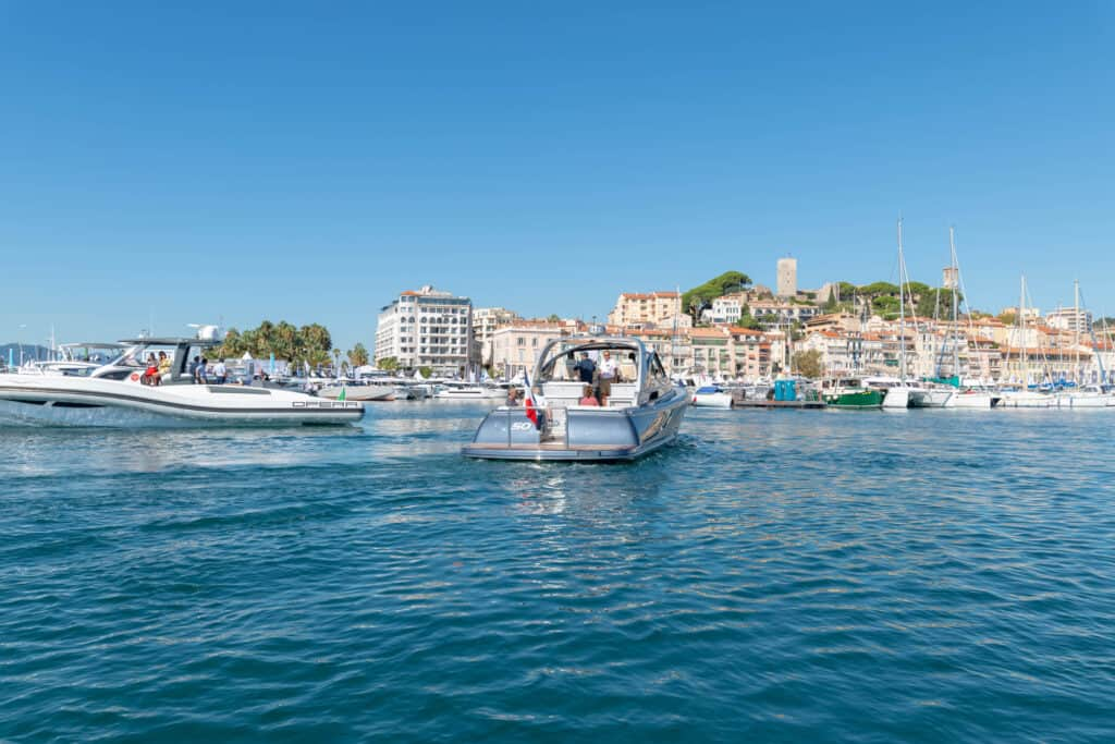 This is photo of Cannes Yachting Festival sea trials