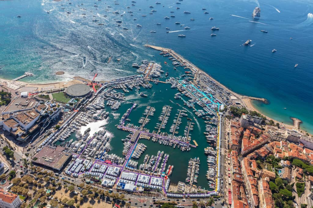 This is photo of a Yachting Festival Cannes 2021