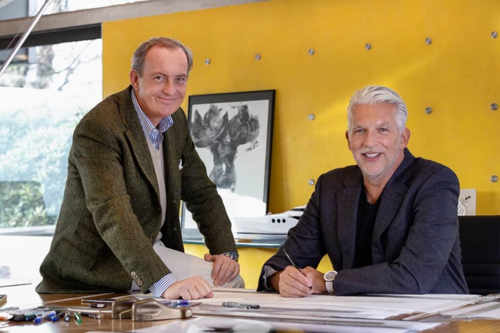This is photo of a Carlo Nuvolari and Dan Lenard