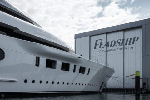 This is photo of a Feadship Bliss motoryacht
