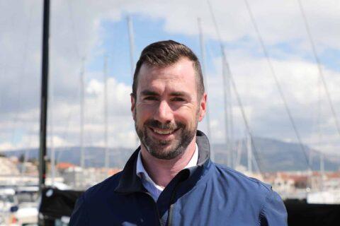 This is photo of a Ivan Kljaković Gašić, ACI Sail