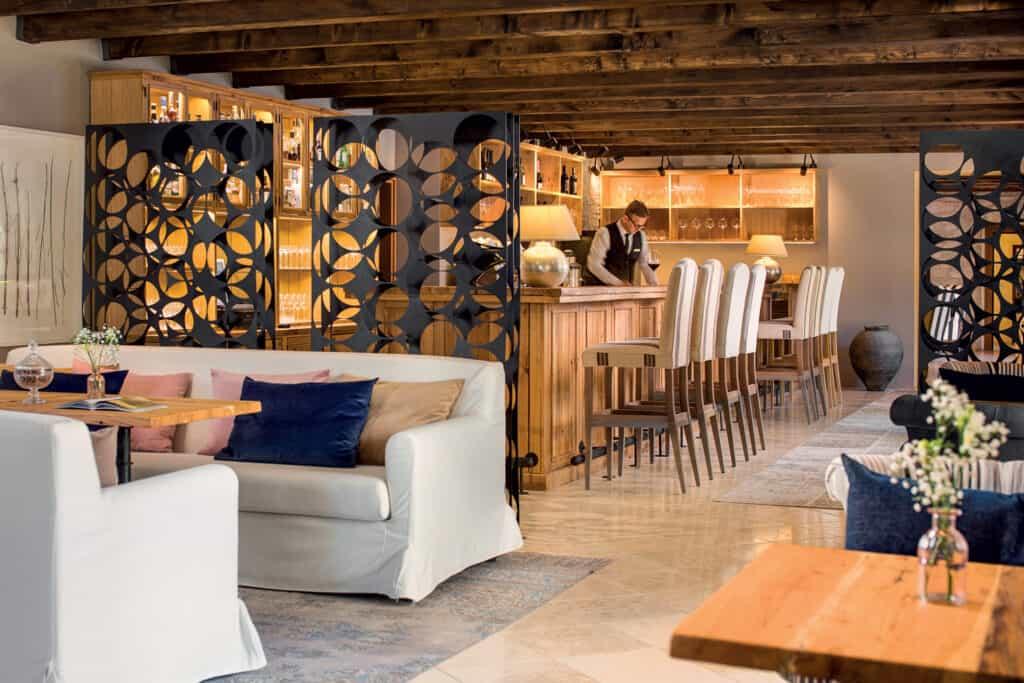 This is photo of a Meneghetti Bar