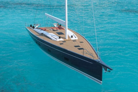 This is photo of a new Grand Soleil 72