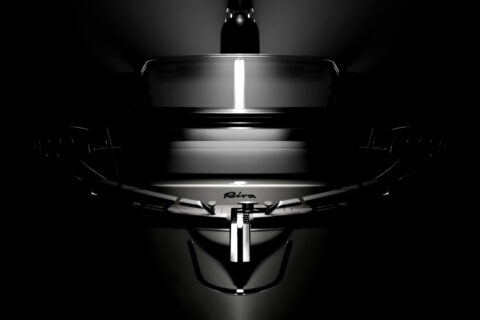 This is photo of a new Riva 68 Diable