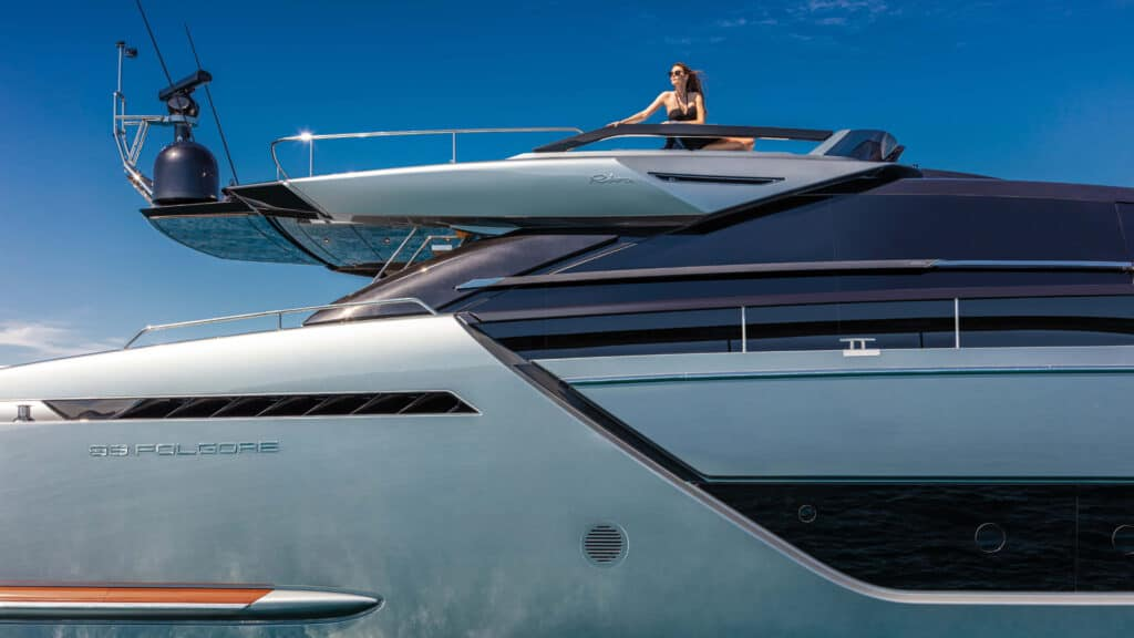 This is photo of a Riva 88 Folgore