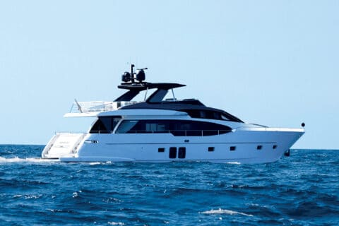 This is photo of a Sanlorenzo SL 78