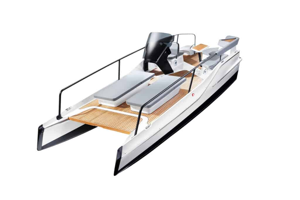 This is photo of a new eletric boat