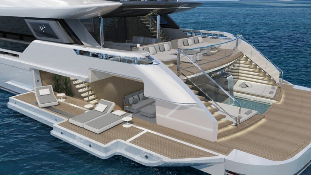 This is a photography of ayrton 63m beachclub