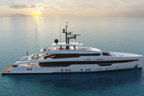 This is photo of a tailor-made yacht CRN M/Y 142