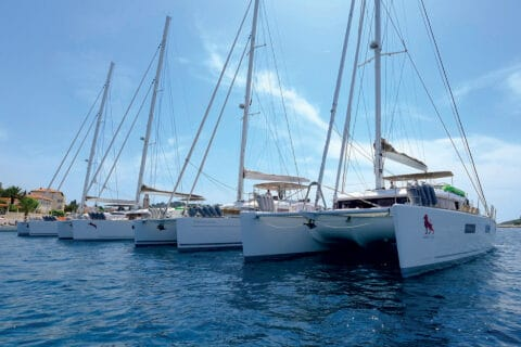 This is photo of a Adria Libar yacht training