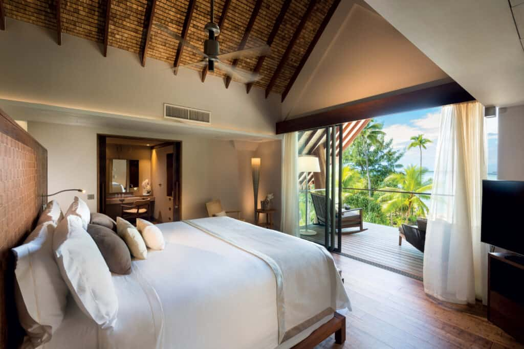 This is photo of a Brando room, French Polynesia