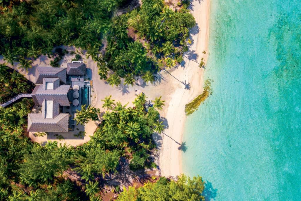 This is photo of a Brando, French Polynesia