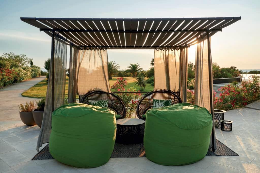This is photo of resort Punta Skala garden