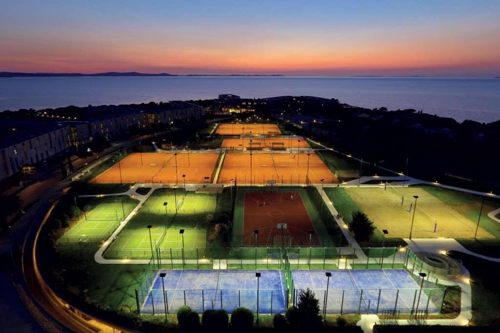 This is photo of a Falkensteiner Resort sport center