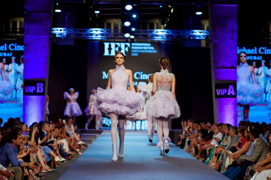 This is photo of a Fashion Festival, Porto Montenegro events