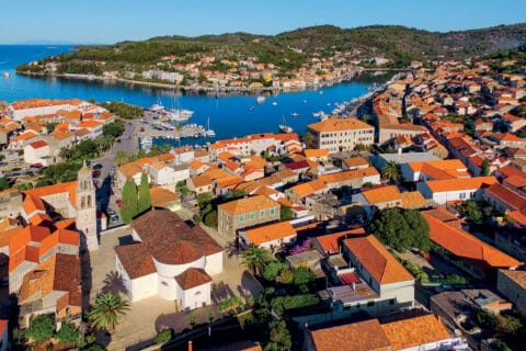 This is picture of town Vela Luka