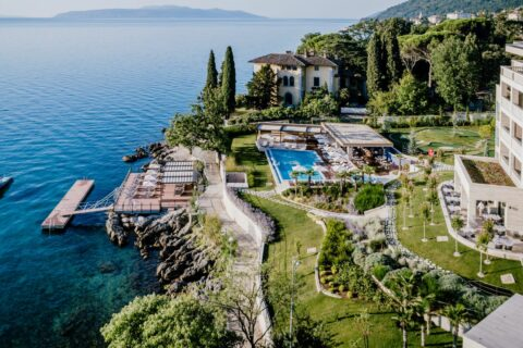 This is a photography of Ikador hotel Croatia