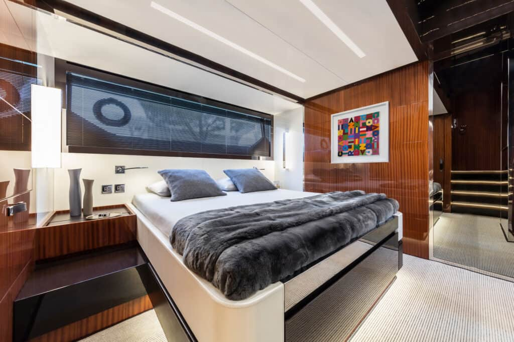 This is photo of a 56 Rivale Hard Top cabin