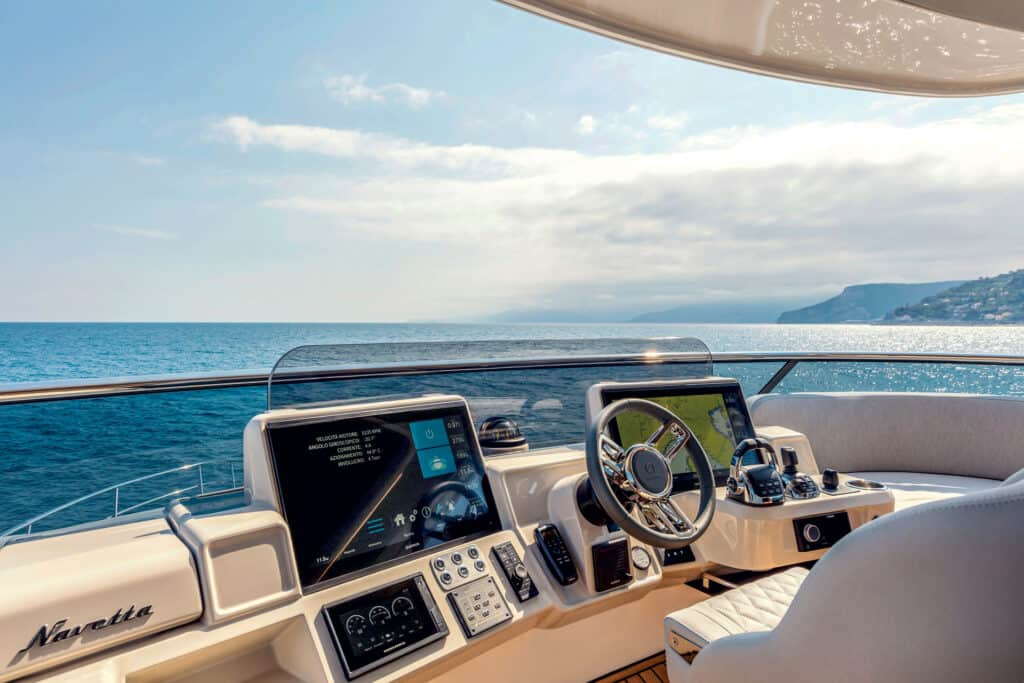 This is photo of a navigation system GPSMAP 1223 on Absolute Navetta