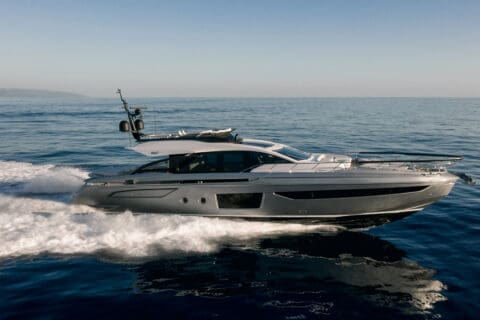 This is photo of a Azimut S8