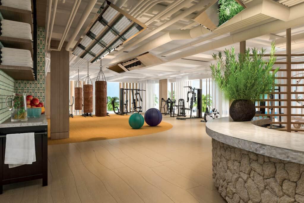 ovo je fotografija nove sportske dvorane Falkensteiner resort