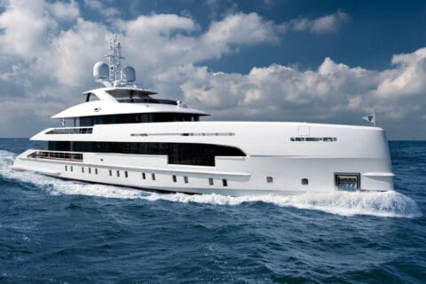 This is photo of a Heesen Ela