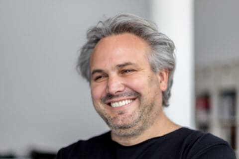 This is photo of a Juan Kouyoumdjian