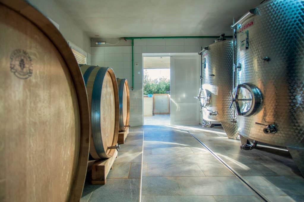 This is photo of a vinery Krajančić