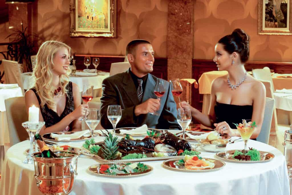 This is photo of restaurant at Lux casino Hotel Mulino