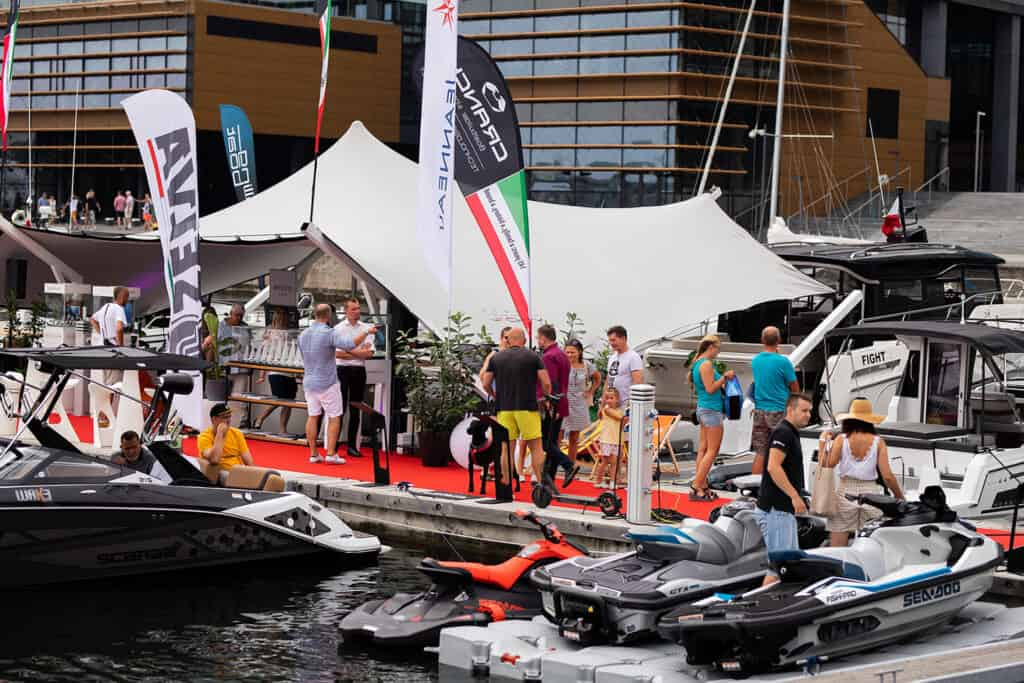 This is photo of a Polboat Yachtng Festival 2021