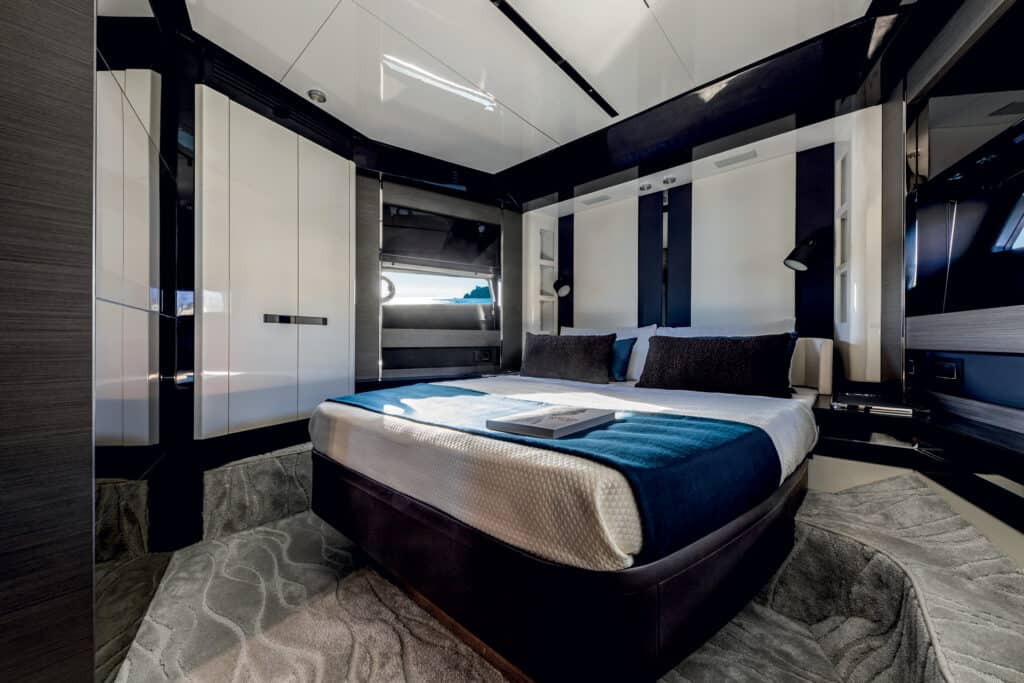 This is photo of VIP cabin