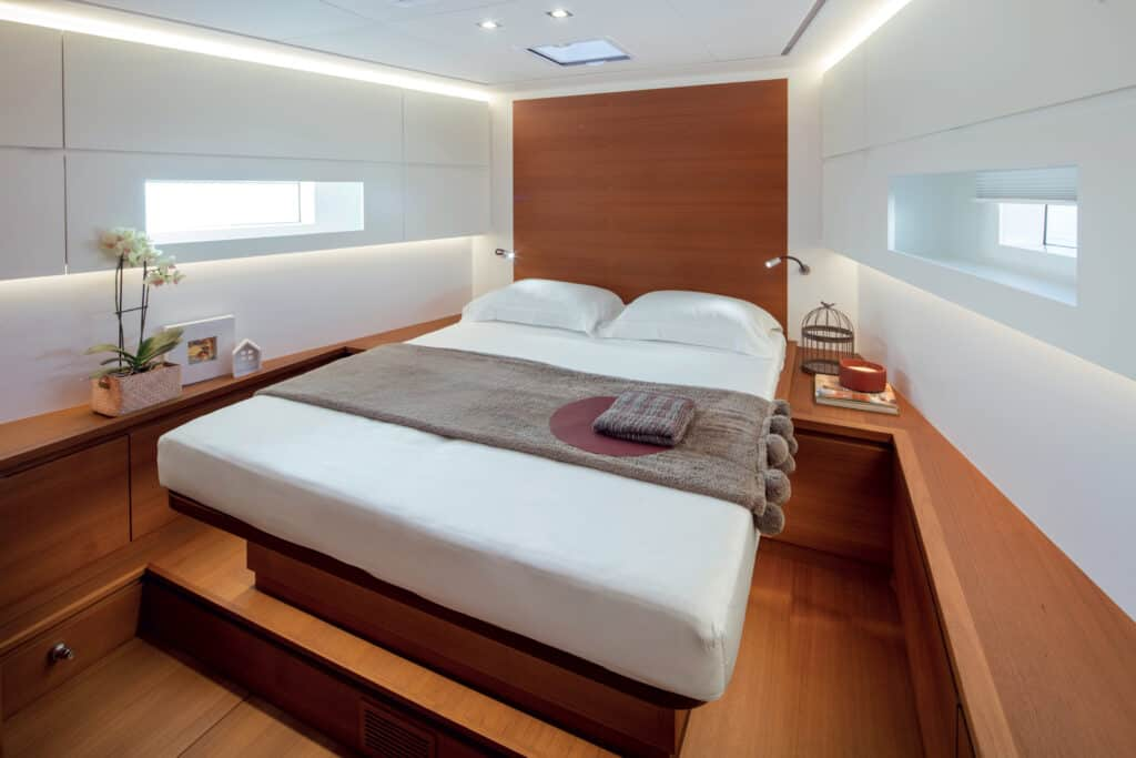 This is photo of a Solaris 60 cabin