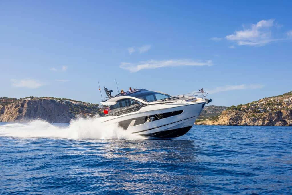 This is a photograph of Sunseeker 65 Sport Yacht