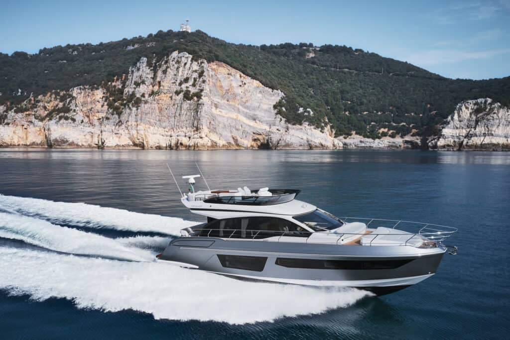This is photo of a Azimut 53