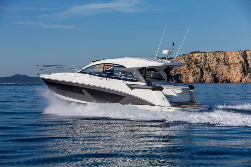 This is photo of a Beneteau Gran Turismo 45